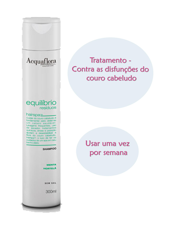 Shampoo e Condicionador Acquaflora