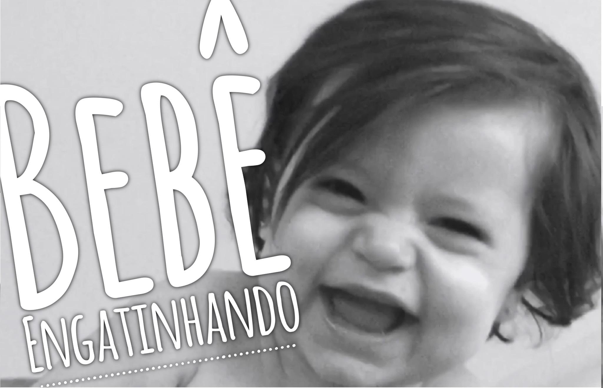Bebê Engatinhando – 9 meses da Isabella